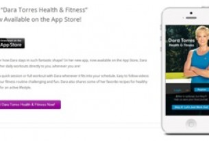 Celebrity Mom and Olympic Icon Dara Torres Introduces New Health & Fitness App On iTunes