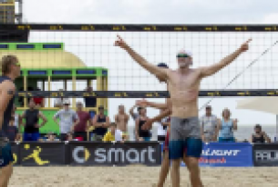 Top-Seeded Casey Patterson and Jake Gibb Storm The AVP Season Opener in New Orleans