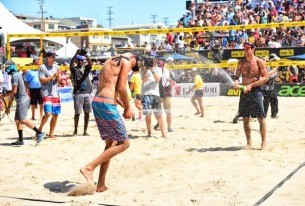 Phil Dalhausser and Nick Lucena Strike Gold, Take Manhattan Beach Open Title