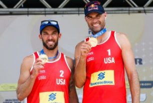 The Beasts of the Beach, Phil Dalhausser and Nick Lucena Storm Brazil and Win Against World #1 Team!